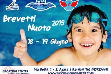 Brevetti Nuoto 2015
