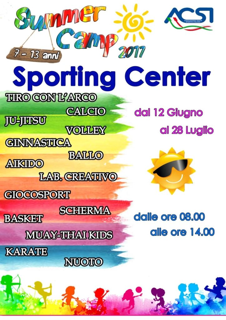 summer camp SPORTING